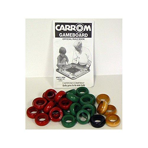 Carrom 190.40 Wood Ring Set