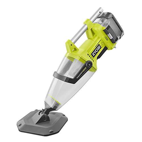 Ryobi 18-Volt ONE+ Lithium-Ion Cordless Underwater Stick Pool Vacuum Kit for In Ground Pools, Above Ground Pools and Spas - (Bulk Packaged)