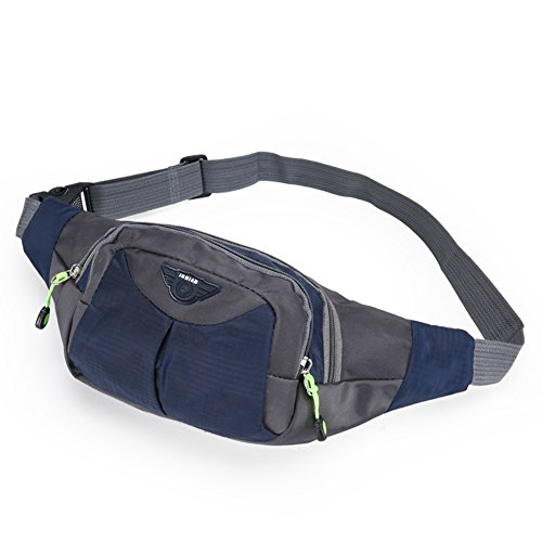 opethome-multi-functional-sports-waist-bag-for-with-3-zippers-for-running-walking-traveling-deep-blu