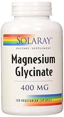 Solaray Magnesium Glycinate 400 Mg - 120 Veg Capules