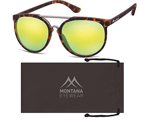 Demi Orange Mixte Multicolore Lunettes Soleil Revo de Montana zqR4nxBawf