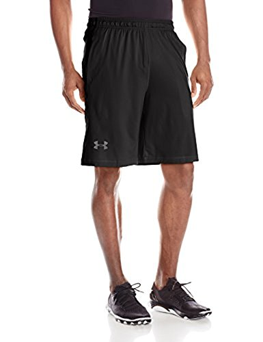 Under Armour Men's Raid 10 in. Shorts Black / Graphite XXLT & Visor Bundle