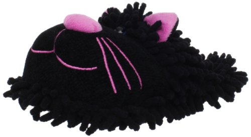 Slippers Cat Fuzzy Fuzzy Friends Black Fuzzy Black Friends Slippers Cat Slippers Fuzzy Cat Friends Black FExdwwnq