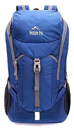 Venture Pal Hiking Backpack - Packable Durable Lightweight Travel Backpack Daypack for Women Men (Navy)