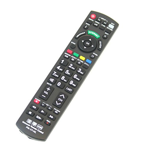 New Panasonic N2QAYB000485 Universal Remote Control for All
