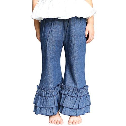 Ruffle Flare Jeans - 3