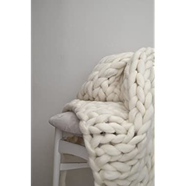 The Classic Knit - giant stitch blanket