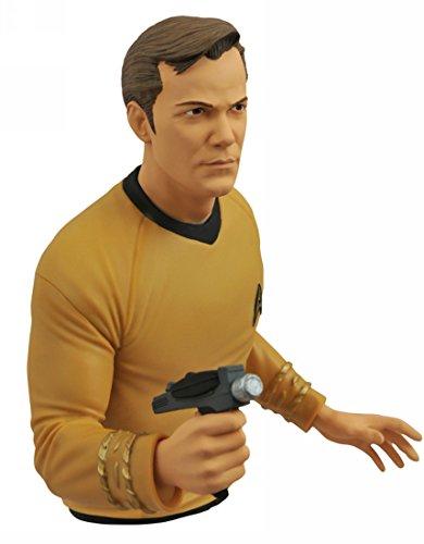 DIAMOND SELECT TOYS Star Trek: The Original Series: Captain Kirk Vinyl Bust (Star Trek Figurines)