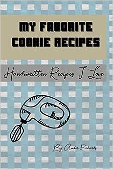 Como Descargar Con Bittorrent My Favorite Cookie Recipes: Handwritten Recipes I Love Epub Patria