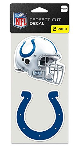 Indianapolis Colts Set of 2 Die Cut Decals