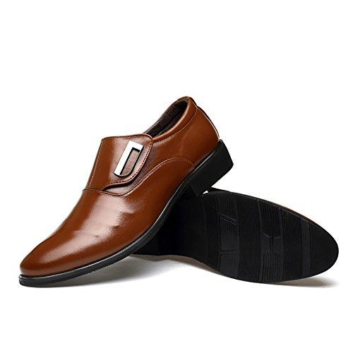 XUE Zapato de Piel de Hombre Primavera Verano Mocasines y Slip-ai Zapatos de guía Zapato Sentado Casual Transpirable Comfort Trabajo Vestir de Trabajo y ...