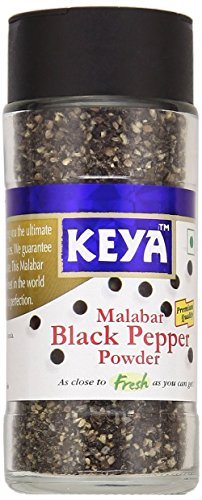 Keya Black Pepper Powder Bottle, 60g