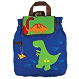 Stephen Joseph Quilted Backpack, Dino - Blue