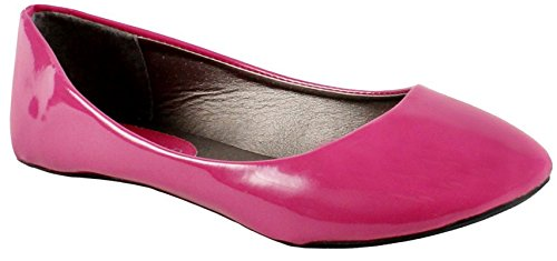 Max Chaussures Peuvent Baller Appartements Rose Brevet * Peut