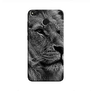 Cover It Up - The Lion BW Redmi 4 Hard case