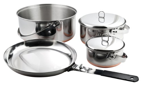 Chinook 41040 Pots & Pans 6 Piece Stainless ()