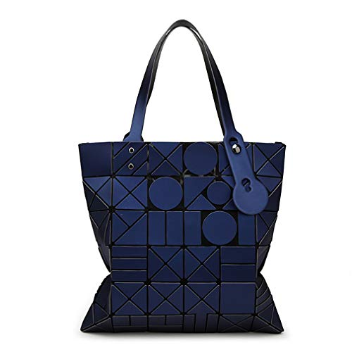 Talla Oscuro Oscuro Mujer al Bolso para Azul Hombro BLACKHEI única Azul cIv0qfwvW1
