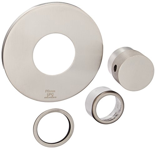 Pfister R78-9VUK R78-9VUK Tub and Shower 3/4-Inch Thermostatic Volume Control Trim Kit, Brushed Nickel