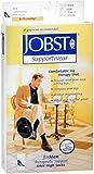 JOBST SupportWear Socks for Men Knee High 8-15 mmHg Black Large 1 Pair (Pack of 10)