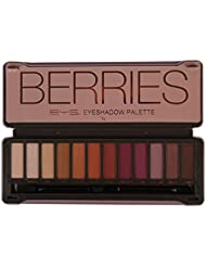 BYS Berries Eyeshadow Palette Tin with Mirror Applicator...