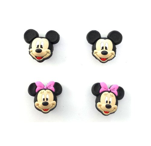 AVIRGO 4 pcs Shoe Charms Set # 8-1 - Max Goofy Costume