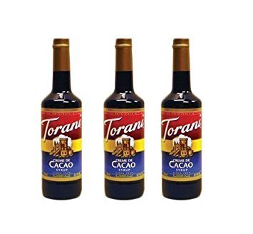 Torani Creme De Cacao Syrup (3 Pack) Torani Creme