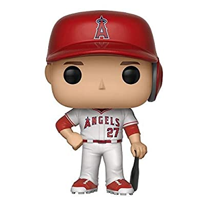 Funko POP!: Major League Baseball Mike Trout Collectible Figure, Multicolor: Funko Pop!:: Toys & Games