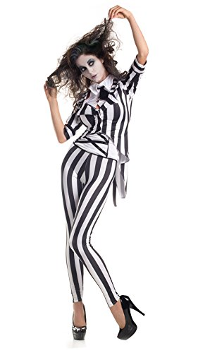 White Graveyard Ghost Costume (Adult Graveyard Ghost Costume Small)