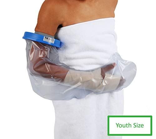 Water Proof Youth Arm Cast Cover for Shower by TKWC Inc - #5734- Watertight Arm Protector - Youth Size