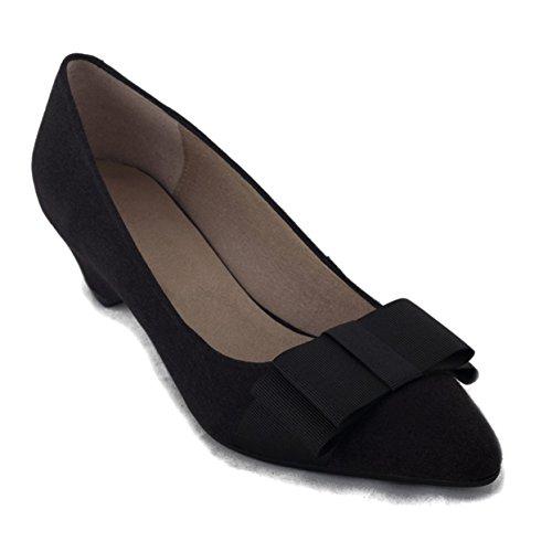 Nae Tacón Veganos De Zapatos Valentina Black FqwIOFr
