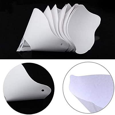 10 filtros de papel grueso de resina embudo para impresora ...