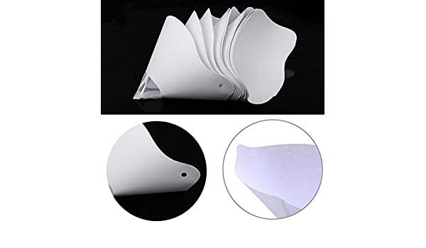 10 filtros de papel grueso de resina embudo para impresora 3D de ...