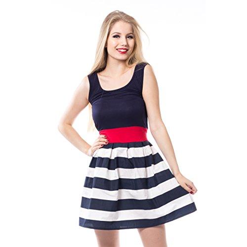 blau Innocent Blau Kleid Dress Elvira qcUWUf7