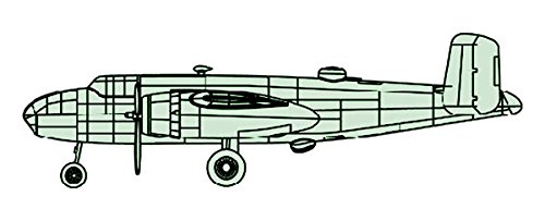 Trumpeter 1:200 - North American B-25 Mitchell for sale  Delivered anywhere in USA