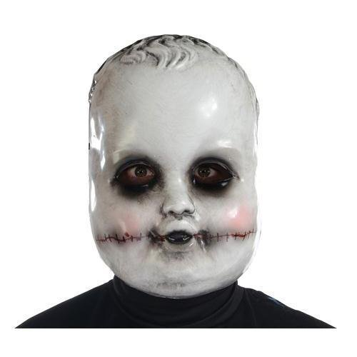 Morris Costumes Halloween Party Smiling Sammie Doll Mask]()