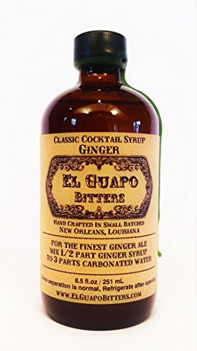El Guapo Bitters Ginger Syrup - Gingers Fund