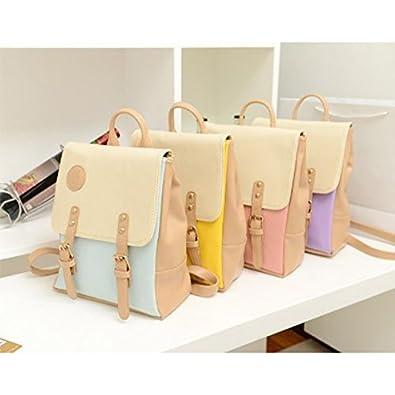 bb6da1720e5d Amazon.com: Fieans Korean Fashion Casual Women's Backpack School Bag ...