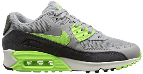 Nike Wmns Air Max 90 Essential - Calzado Deportivo para mujer Wlf Gry/Ghst Grn-Drk Gry-Smmt