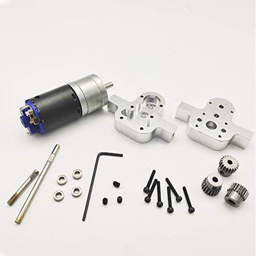 Ocamo Metal Box Fittings Accessories DIY Upgrade Modified Model Toys Accessories for WPL B36 B14 B16 B24 JJRC Q60 Q61 RC Car Crawle Special with 370 Motor Transfer case 1:16 -