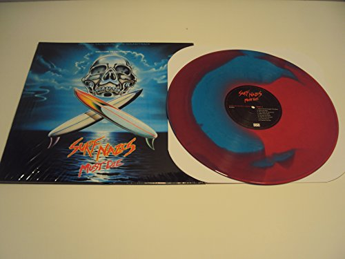 Surf Nazis Must Die 2nd Pressing Blue and Red Splatter Vinyl