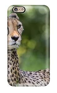 Hot Style Protective Case Cover For Iphone6(cheetah Looks Window Close) WANGJING JINDA