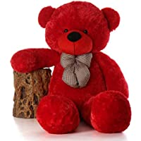 Shiddhi Toys 3 Feet Red Teddy Bear