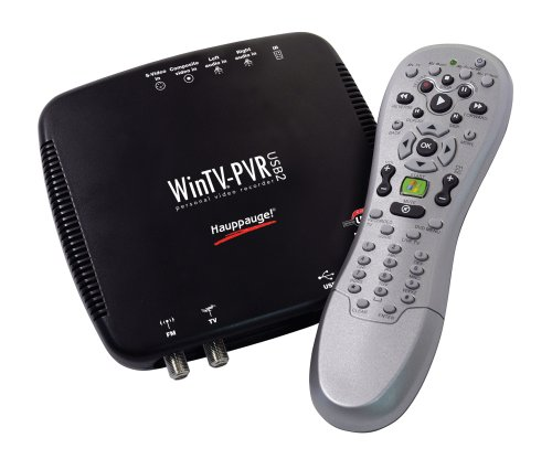 Hauppauge-WinTV-PVR-USB 2.0 MCE Bundle TV Tuner/Personal Video Recorder by Hauppauge