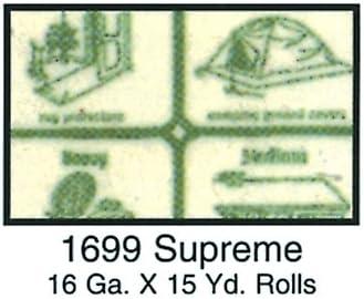 "16 Gauge Vinyl Clear 54/"" 15 Yard Roll"