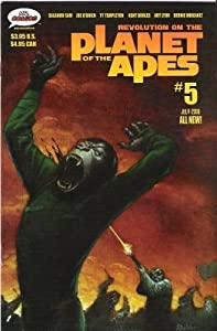 Revolution on the Planet of the Apes #5 Mr Comics July 2006
