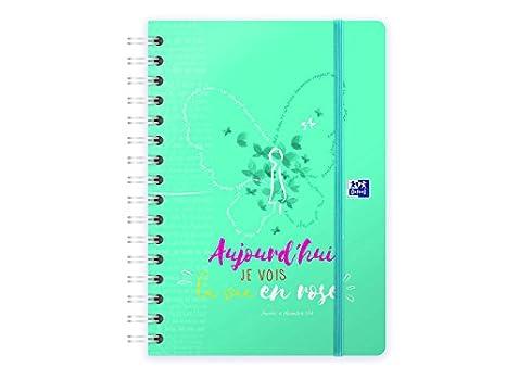 Amazon.com : Oxford Mr bonheu School 16 A5 Diary, Week View ...