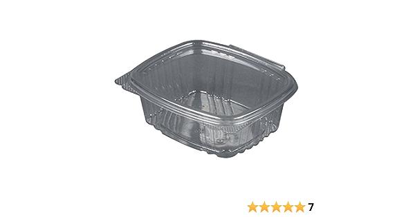 Details about  /240 Case 16 oz.Plastic Deli Container and LidMicrowavableTranslucent