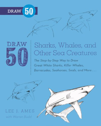 Draw 50 Sharks, Whales, And Other Sea Creatures (Turtleback School & Library Binding Edition) pdf epub