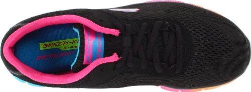 Skechers Flex Appeal Style Icon - Zapatillas de Deporte de material sintético mujer Negro
