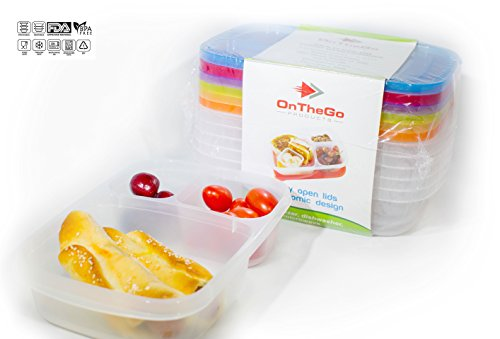 otg-bento-lunch-box-6pc-bundle-3-compartment-reusable-food-containers-for-kids-and-adults-microwave-